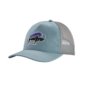 Patagonia Women's Fitz Roy Bison Layback Trucker Hat - Big Sky Blue