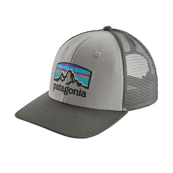 Patagonia Fitz Roy Horizons Trucker Hat - Drifter Grey