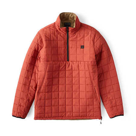 Billabong Boundary Reversible Puffer Jacket - Terra
