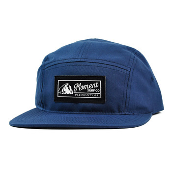 Moment PC Rock 5-Panel Hat - Light Navy