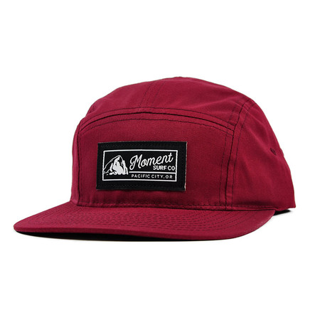 Moment PC Rock 5-Panel Hat - Berry
