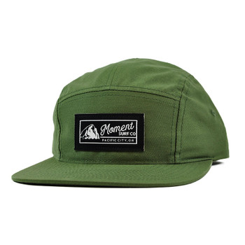 Moment PC Rock 5-Panel Hat - Army Olive