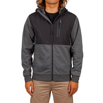 Rip Curl Interblock Anti-Series Zip Hoodie - Black