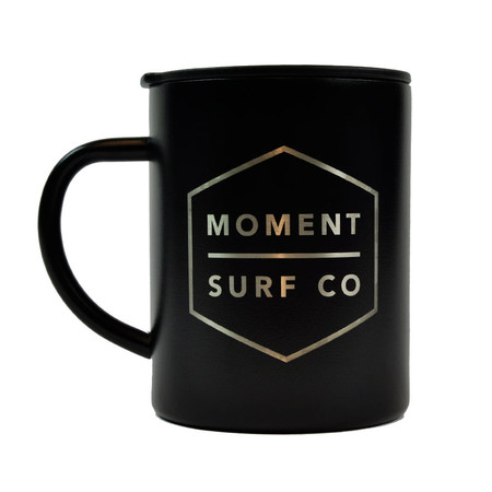 Moment X Mizu Camp Mug - Black