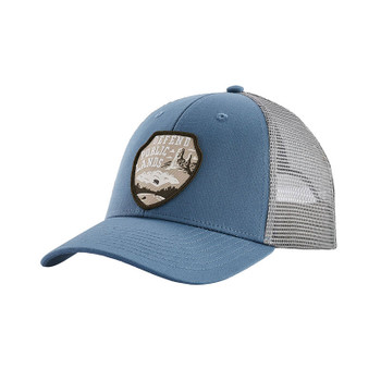 Patagonia Defend Public Lands LoPro Trucker Hat - Wooly Blue