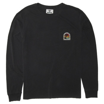 Vissla Adios Sunset L/S Pocket Tee - Phantom