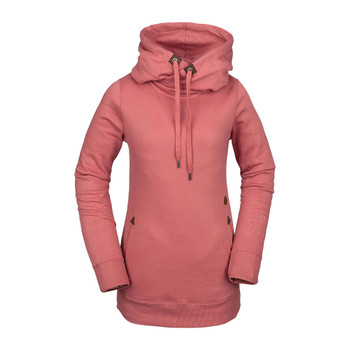 Volcom Tower Pullover Fleece - Mauve