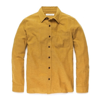 Outerknown Transitional Flannel - Saffron