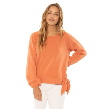 SisstrEvolution Beyond The Waves Knit Fleece - Baked Clay