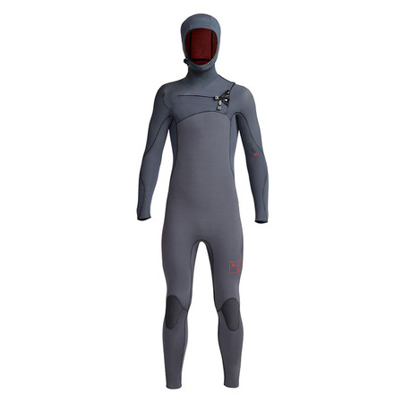 Xcel Youth Comp X Hooded 4.5/3.5 Wetsuit - Gunmetal