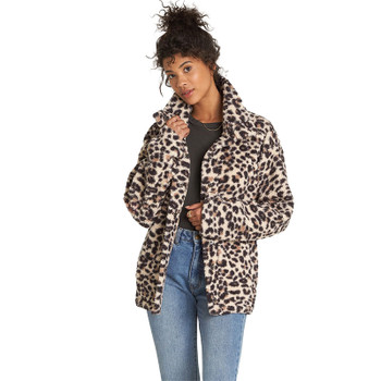 Billabong Cozy Days Sherpa Jacket - Whisper
