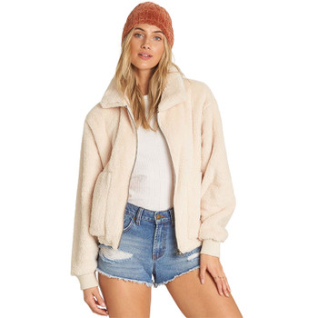 Billabong Always Cozy Sherpa Jacket - Whisper