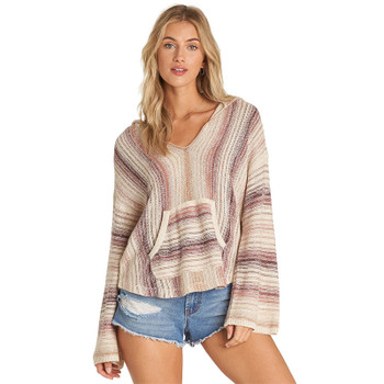Billabong Baja Beach Sweater - Coco Berry