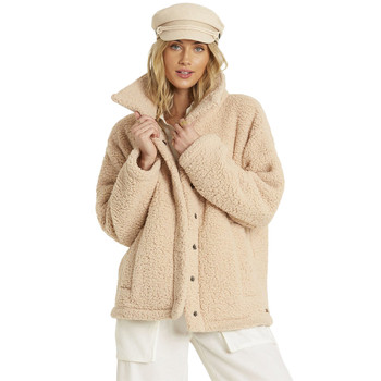 Billabong Cozy Days Sherpa Jacket - Antique White