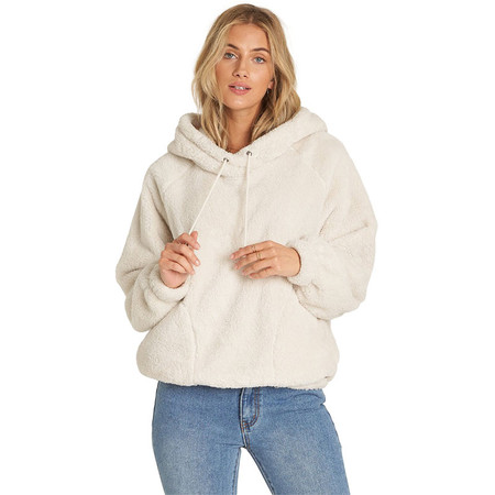 Billabong Warm Regards Sherpa Jacket - White Cap