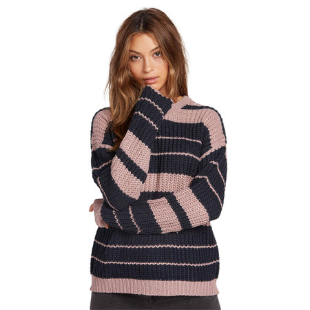 Volcom Move On Up Sweater - Faded Mauve