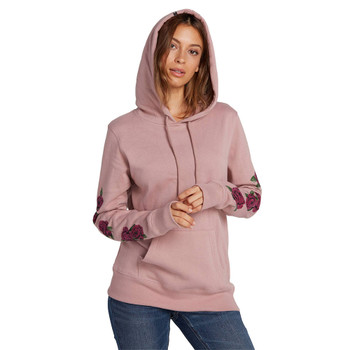 Volcom Vol Stone Pullover Hoodie - Faded Mauve