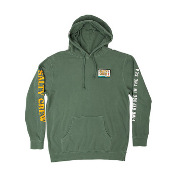 Salty Crew Point Loma Fleece - Alpine Green