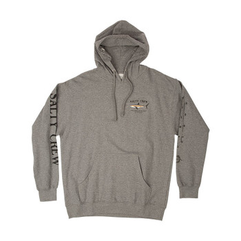 Salty Crew Bruce Hooded Fleece - Gunmetal Heather