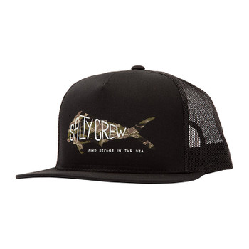 Salty Crew Sargasso Trucker Hat - Black