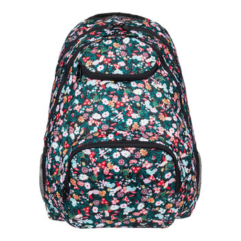 Roxy Shadow Swell Backpack - Anthracite Bouquet