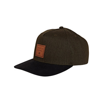 Billabong Stacked Up Snapback Hat - Olive Heather