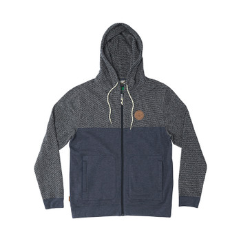 HippyTree Lompoc Hoodie - Heather Navy