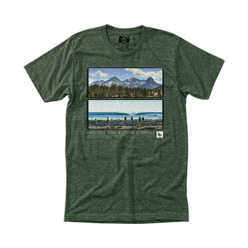 HippyTree Frameview Tee - Heather Forest