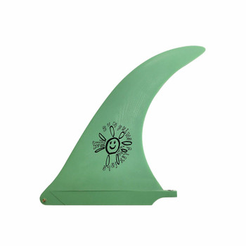 "Captain Fin Alex Knost Sunshine 10"" Longboard Fin - Green"