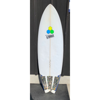"Used Channel Islands Pod Mod 5'8"" Surfboard"