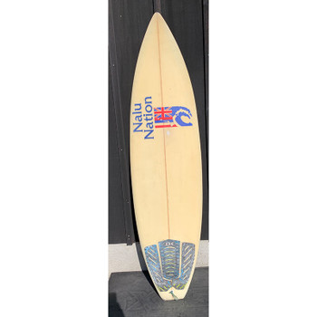 "Used Nalu Nation 6'0"" Surfboard"