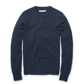 Outerknown Harbor Crew Sweater - Denim