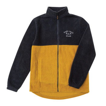 Dark Seas Quiver Jacket - Navy / Tobacco