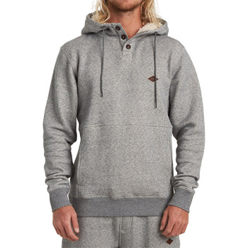Billabong Hudson Pullover Hoodie - Grey Heather