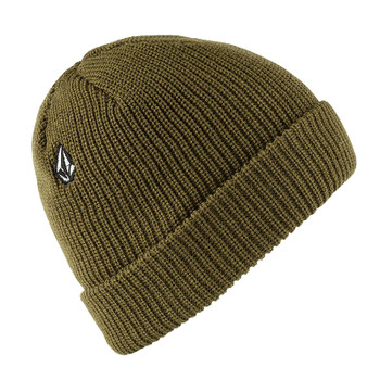 Volcom Full Stone Beanie - Sonic Green - Right Side