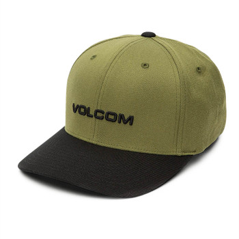 Volcom Euro X Fit Hat - Sonic Green
