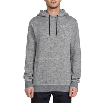 Volcom Ncoder Pullover Hoodie - Heather Black