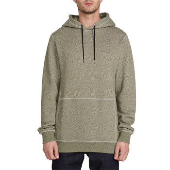 Volcom Ncoder Pullover Hoodie - Army Green Combo