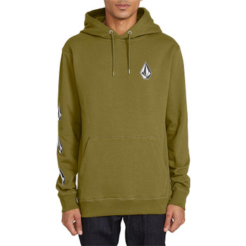 Volcom Deadly Stones Pullover Hoodie - Sonic Green