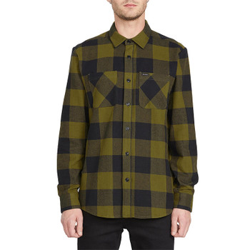 Volcom Shade Stone L/S Flannel - Sonic Green