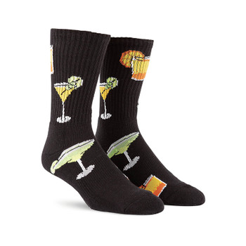 Volcom Bit Drinks Sock - Black