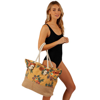 Rip Curl Sun Chasers Tote Bag - Mustard