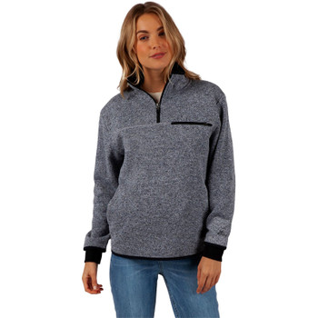 Rip Curl Anti-Series Modular Pullover Jacket - Light Grey Heather