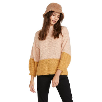 Volcom The Shevers Sweater - Dusty Rose