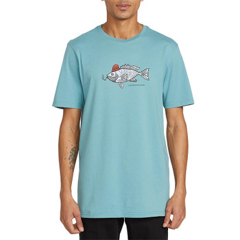 Volcom Trout There S/S Tee - Agave