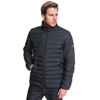 Quiksilver Scaly Full Zip Puffer - Black