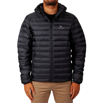 Rip Curl Fall Hooded Anti Series Jacket - Black
