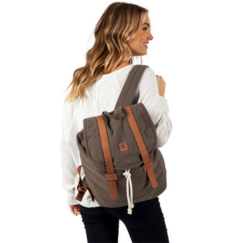 Rip Curl Threads Canvas Backpack - Olive