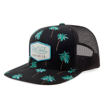 Rip Curl Palm Cruise Trucker Hat - Black