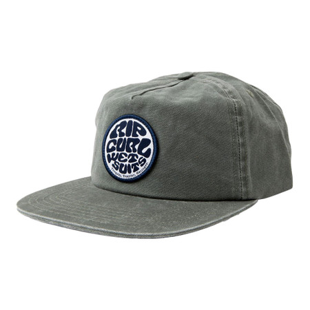 Rip Curl Washed Wetty Snapback Cap - Green